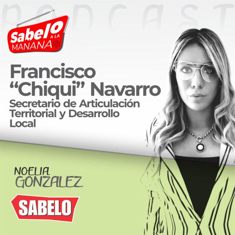 """Francisco """"Chiqui"""" Navarro / Tarjetas Alimentar / SABELO A LA MAÑANA"""